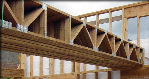 Charlotte Floor Trusses Wooden Floor Truss Design All Truss
